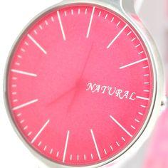 FW788G Pink Dial Pink Band PNP Shiny Silver Kasse Ladies Kvinder Mode Watch