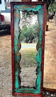 Fringe Dressing Mirror - Sofia's Rustic Furniture