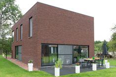 Huis - gebouwd met de nero baksteen van steenfabriek Nelissen