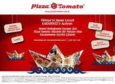 Pizza Tomato Press Ad for Black Sea Area, Turkey