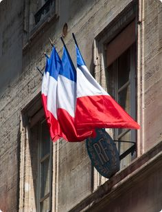 Paris, France :: French Flags