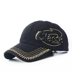 b38e005f5f1ba0 cotton Cap for men casual summer hat 3D CLASSIC letter Embroidered cap  Unisex