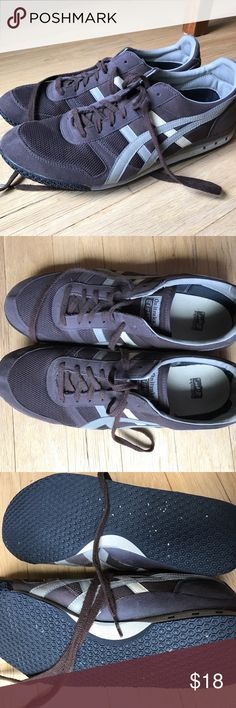 Men's onitsuka tiger shoes A bit of wear on heels as seen but otherwise in good shape. Onitsuka Tiger by Asics Shoes Sneakers