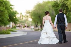Awesome post-ceremony shot by Robert Godridge Photography!