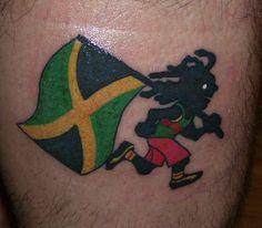 Jamaica rasta runner