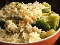 Cheesy Rice and Broccoli
