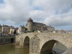 Laval (Mayenne) - Château et Pont vieux