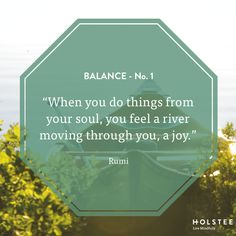 What brings you the most joy? #balance #MindfulMatter