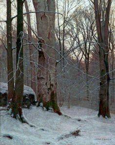 Winter Twilight  by James Thomas Watts.