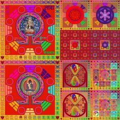 Om Reiki Lilis Raais Bi Venus Moon Mandala