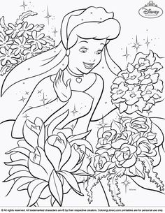 Disney Princesses Coloring Pages And Sheets Find Your Favorite Cartoon Picures In The Library