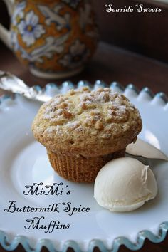 Sweet Spot » MiMi's Buttermilk Spice Muffins