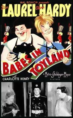"""Laurel and Hardy in """"Babes in Toyland"""" (1934)"""