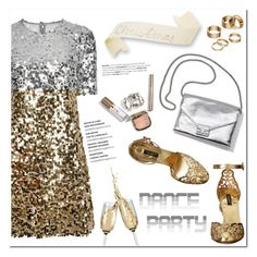 """""""Dance Party!"""" by helenevlacho ❤ liked on Polyvore featuring Dolce&Gabbana, Apt. 9, contestentry and danceparty"""
