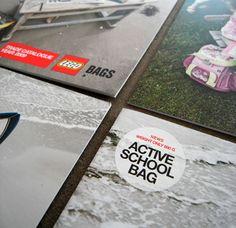 Brochure til LEGO/ Udarbejdet af grafisk designer Anne Mark Møller / Designbureauet Anetmai