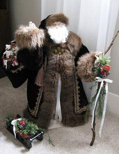 CUSTOM ORDER SANTA: Handmade Old World Santa par FatherChristmasJoy