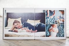 Beautiful, Clean, Modern Album Design Templates for Professional Wedding and Portrait Photographers - The Ultimate Album Builder for Photoshop and InDesign - Design Aglow Album Design, Book Design, Wedding Album Layout, Wedding Albums, Wedding Book, Minimalist Photos, Branding, Book Layout, Photography Business