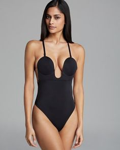 Fashion Forms U Plunge Backless Strapless Bodysuit | Bloomingdale's