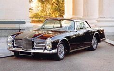 Facel Vega – great car, great name, passed one on the M25 the other day. Stirling Moss was asked, of all the cars he'd driven, which would he choose, and he chose this. That'll do for me.