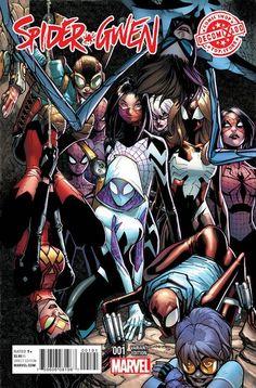 Spider-Gwen | Veja um preview da nova série da Gwen Stacy Aranha | Omelete