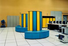 Cray Supercomputer at CERN (birthplace of the WEB), Switzerland, 1989