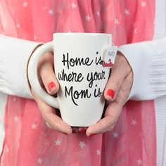 Show details for Home is Where Mom is Mug