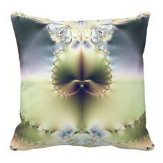 Fractal Art 042 EML Throw Pillows