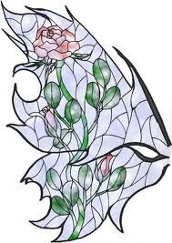 Stain glass fairy wings