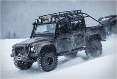 Land Rover´s Special Vehicle Operations department were recently commissioned by the team of the latest James Bond adventure - Spectre (hits cinemas on November 5), to modify the iconic Land Rover Defender and feature it in the movie. The end r