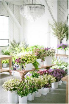 Flowerona Links : With peonies, roses & a flower house... | Flowerona (Image : Matthew Land Studios)