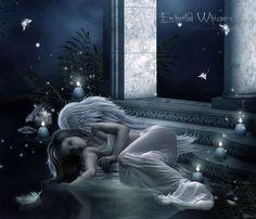Fantasy art Angelic Waters
