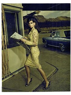 visual optimism; fashion editorials, shows, campaigns & more!: perfect day: alexandra tomlinson by jacques olivar for marie claire italia april 2012