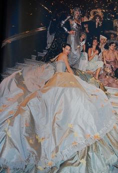Backstage / Christian Dior Spring 1998 Haute Couture pinned with Pinvolve - pinvolve.co