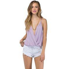 Women Sexy V-neck Camis Chiffon Tops