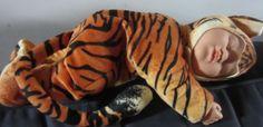 Anne Geddes Tiger Doll