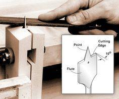 9. Sharpening Drill Bits