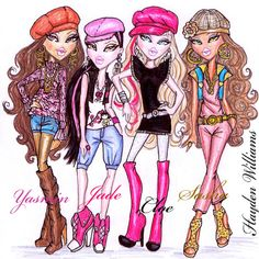 185 Best Bratz Images In 2016 Coloring Pages Animated Cartoon