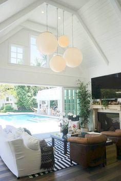 an indoor/outdoor living space!