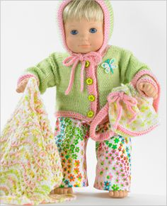 #Free Patterns; knit - crochet; for 15 inch dolls  ~~