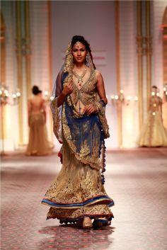 Mandira Wirk India Bridal Week 2013