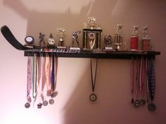 Display for medals and trophies