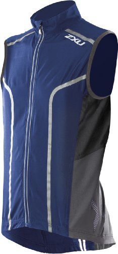 2XU Active 360 ​​Run Vest Men, Element / Charcoal, X-Large | Exercise & Fitness