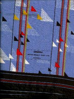 Qantas uniform scarf 1994.
