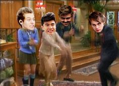 Omg!!! Calum is london who is the asian .. Luke is the blonde i.e maddie .. Ashton is estabon i.e the guy with the accent .. And michael is moseby ... I love this episode!! It's smater and smarterer!!!