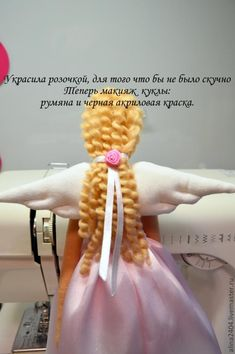 Cabelo - МК по пошиву куклы тильды. Розовый ангел - Ярмарка Мастеров - ручная работа, handmade