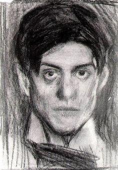 Pablo Picasso self portrait autorretrato2