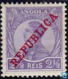 1912- Angola [AGO] - King Manuel II with imprint