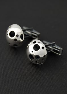 Moon Like Cuff Links from Lucie Veilleux