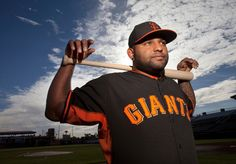 Pablo Sandoval (48) poses for a photo as the San Francisco Giants hold spring training at Scottsdale Stadium in Scottsdale, Ariz., Sunday, Feb. 23, 2014. (Patrick Tehan/Bay Area News Group)