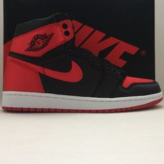 9e8beb94741 DS Nike Air Jordan 1 I Retro High OG SE Satin Bred Size 9.5